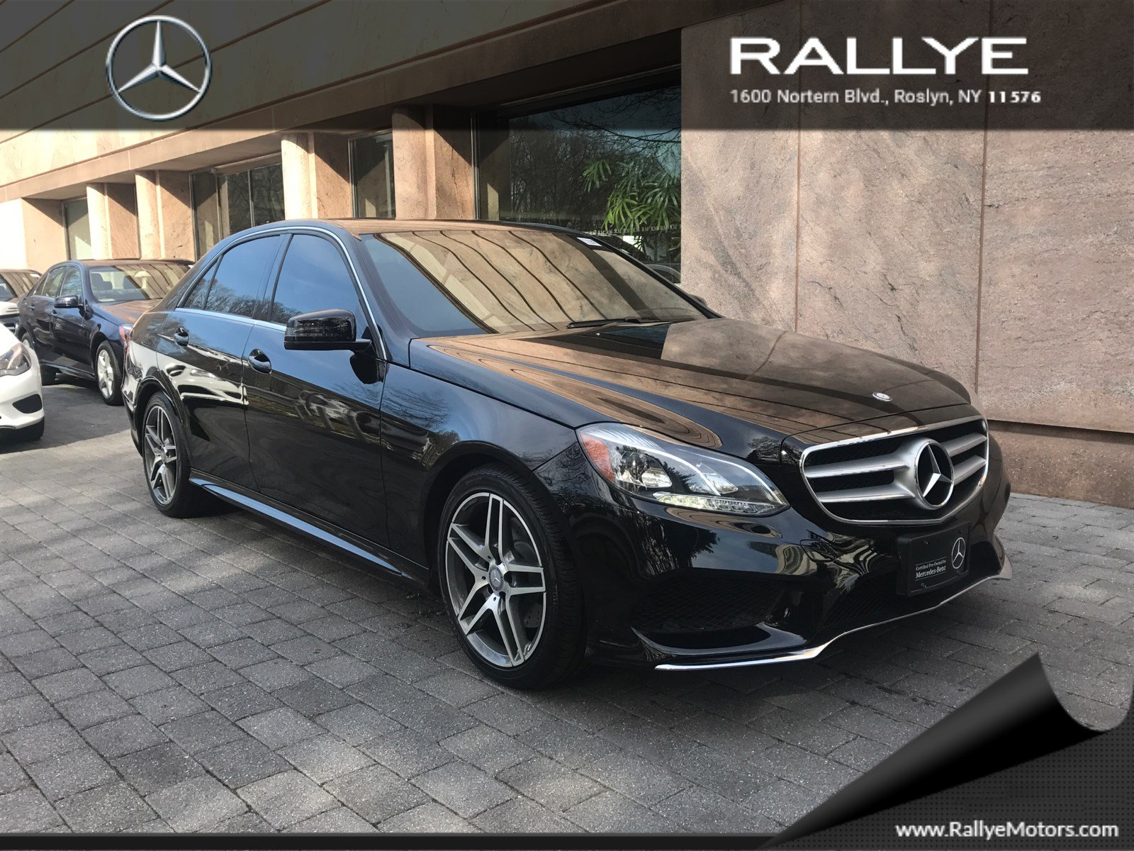 certified pre owned 2014 mercedes benz e class e 350 sport sedan in roslyn 27696 rallye motors. Black Bedroom Furniture Sets. Home Design Ideas
