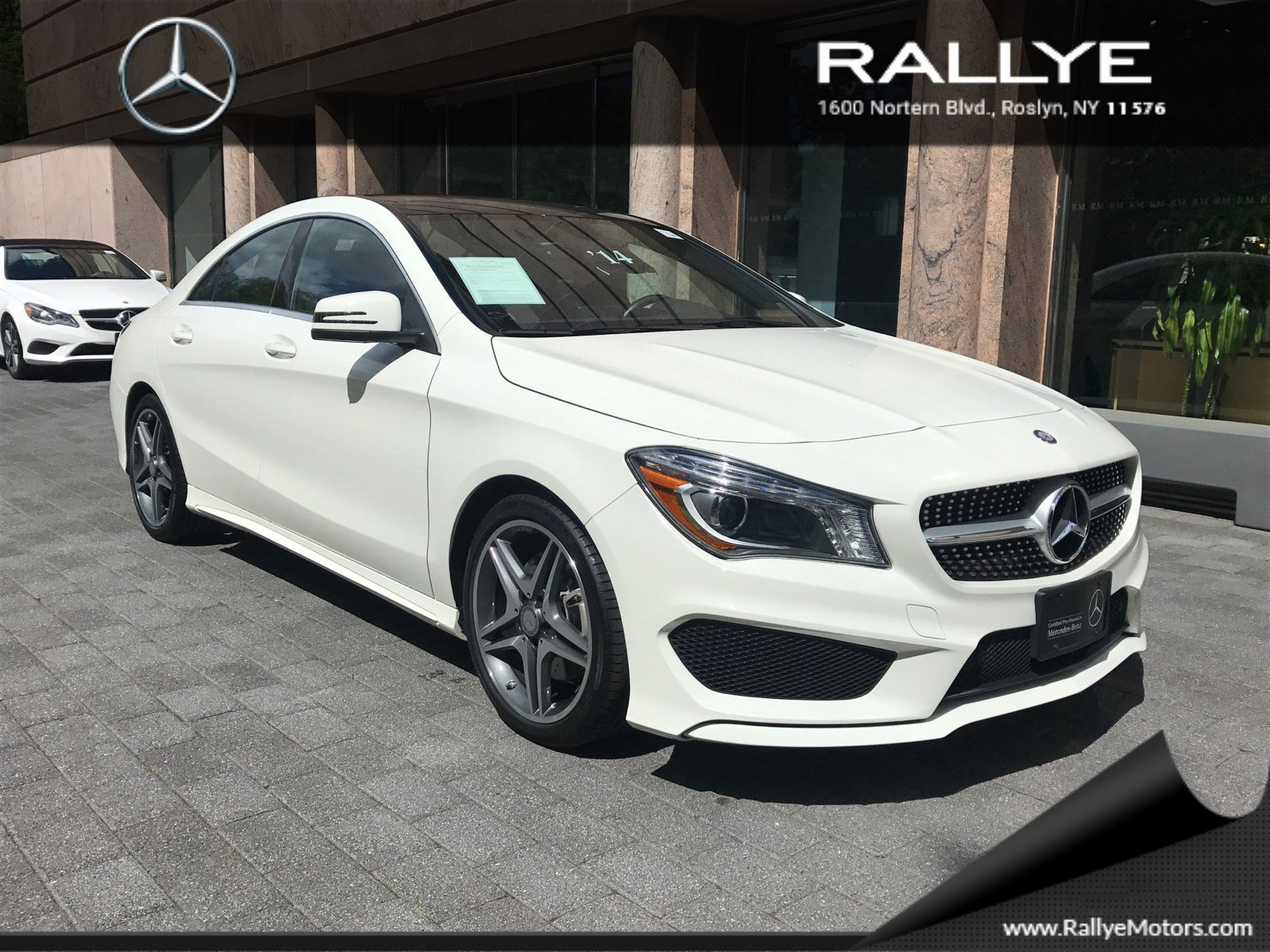 certified pre owned 2014 mercedes benz cla cla 250 sport coupe in roslyn 27870 rallye motors. Black Bedroom Furniture Sets. Home Design Ideas